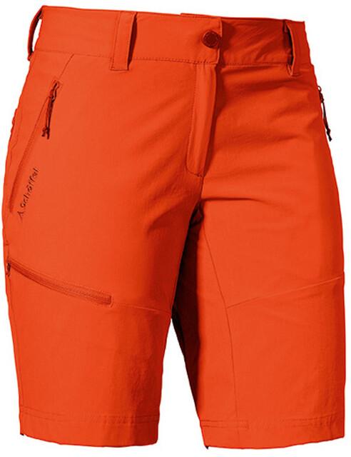 Schöffel Toblach2 Shorts Women mandarin red
